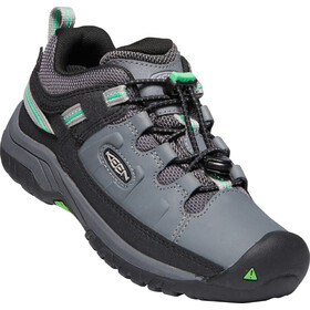 Keen Targhee Low WP Shoes Youth steel grey/irish green